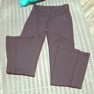 Lululemon high waisted wide leg yoga pants